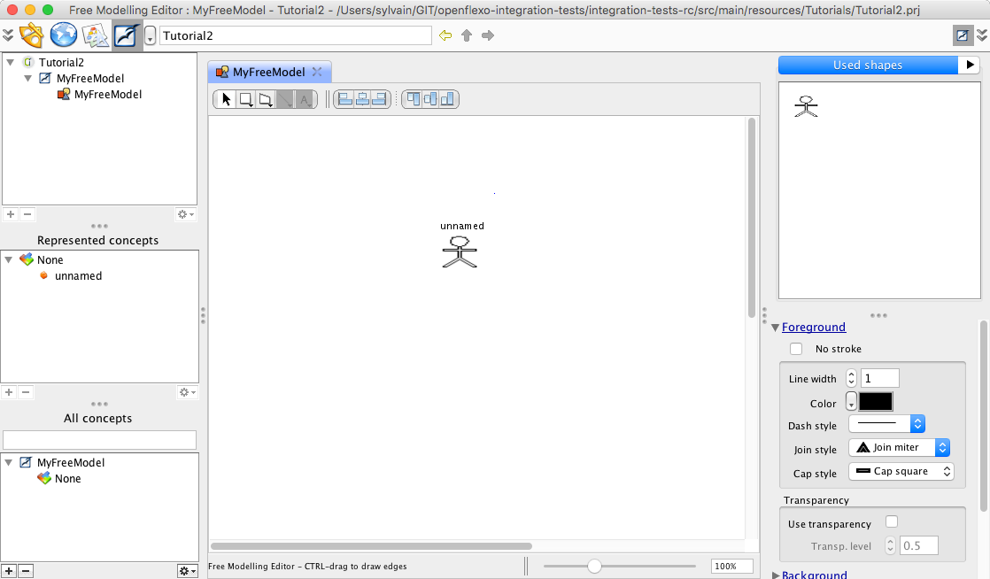 Maven Tutorial 2 Create Diagram Editor Using The Freemodellingeditor