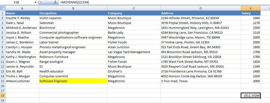Maven – Tutorial 5 : Federating Excel Documents